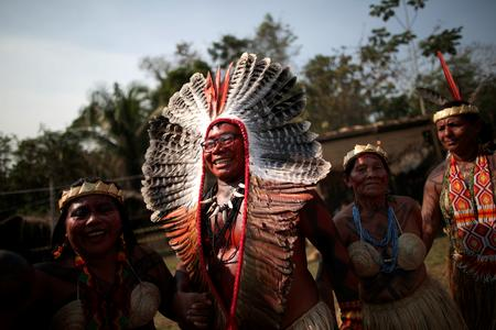 As fires ravage the Amazon, indigenous tribes pray for protection
