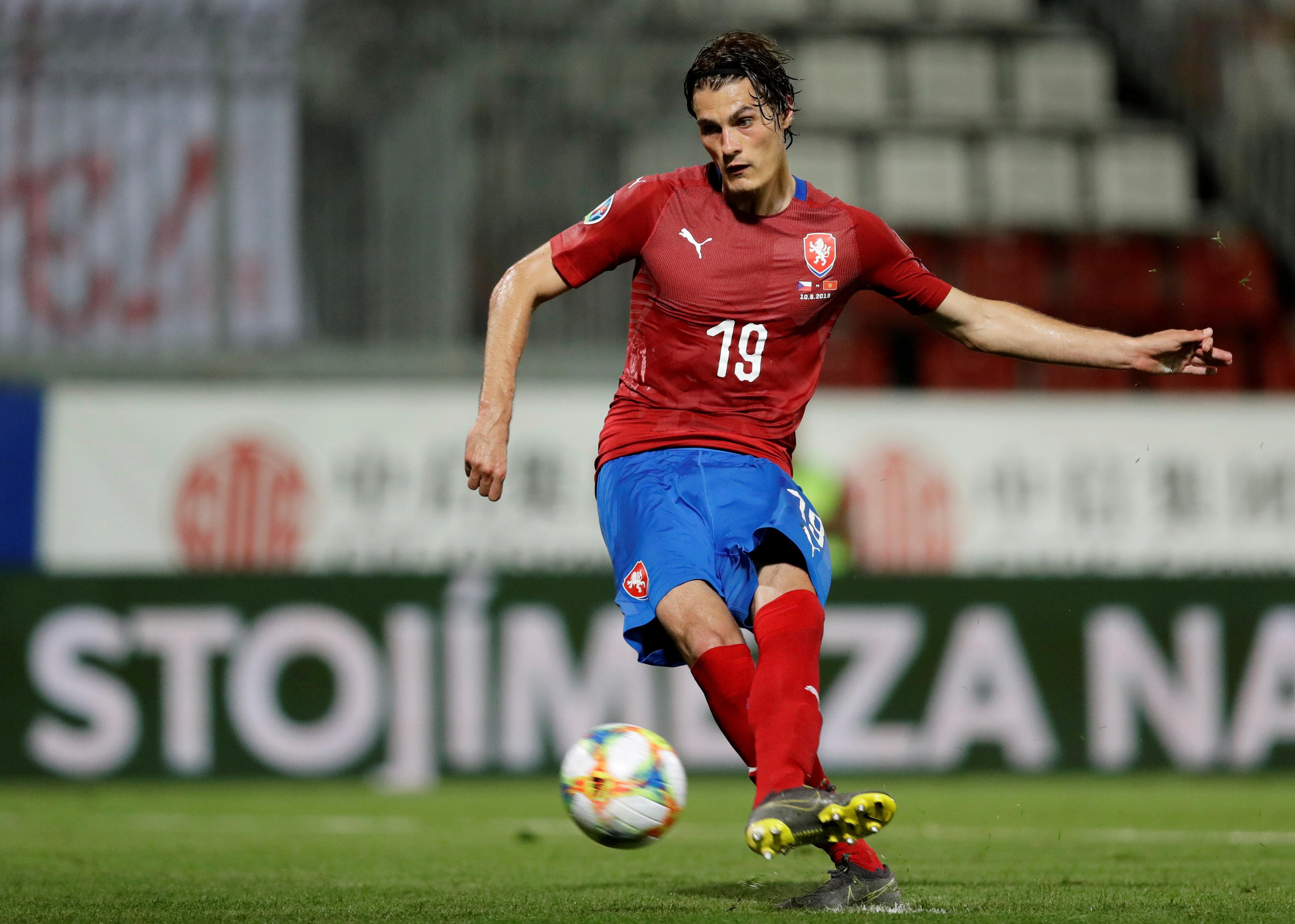 AS Roma sends forward Schick on loan to RB Leipzig