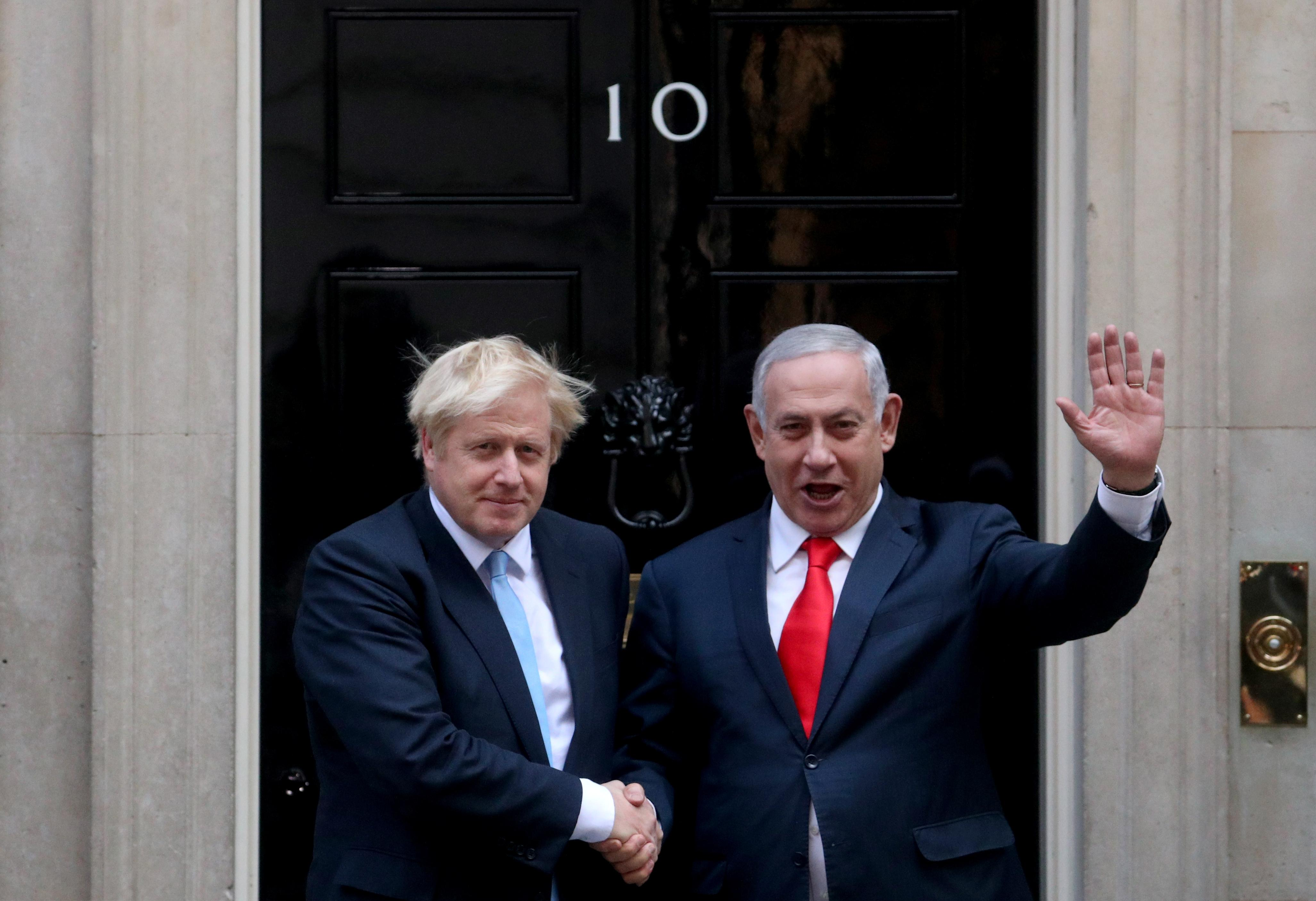 UK and Israeli leaders agree on need to stop Iran getting nuclear...