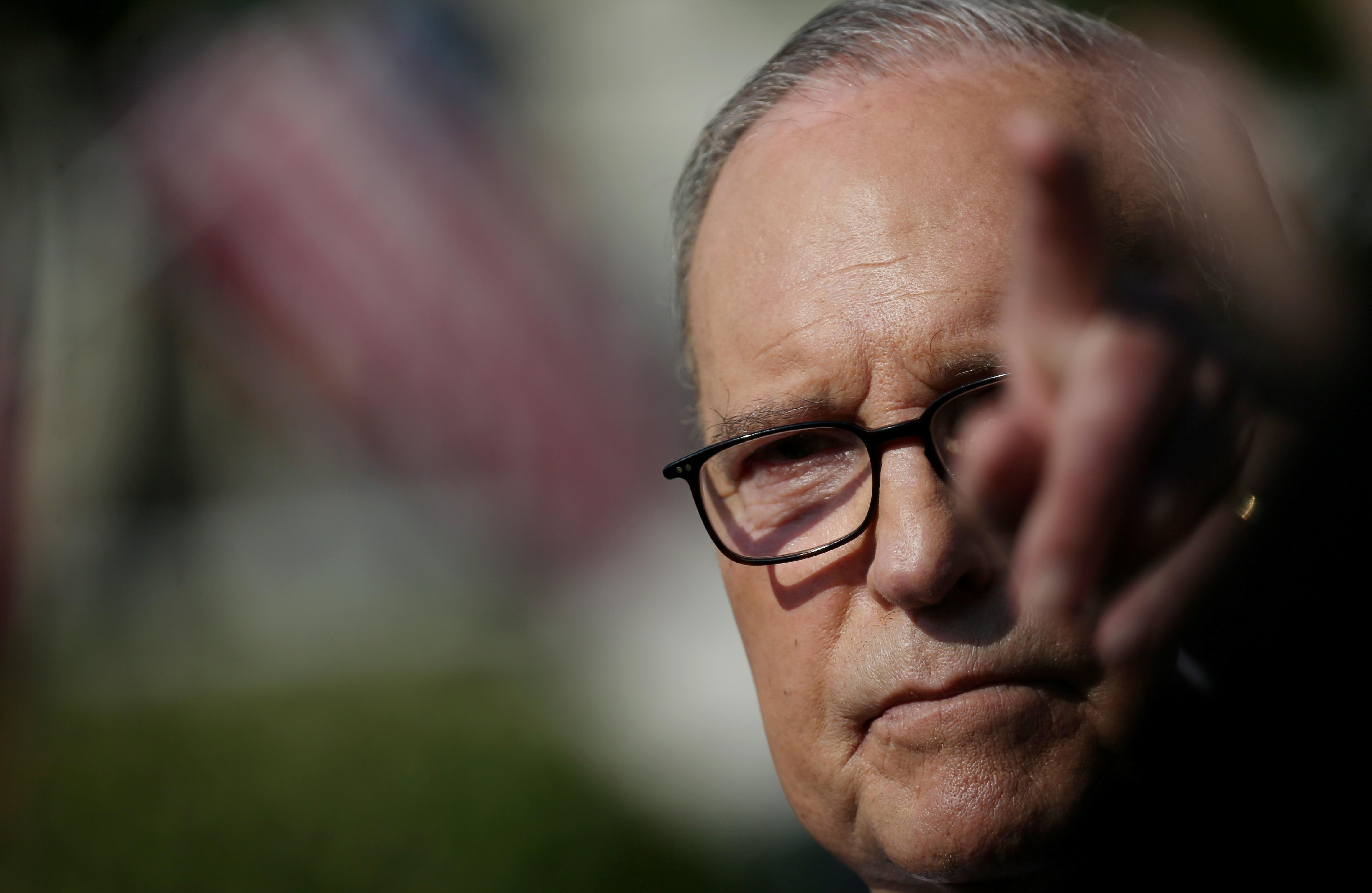 Good if Fed lowers rate in September and October, White House's Kudlow tells Bloomberg