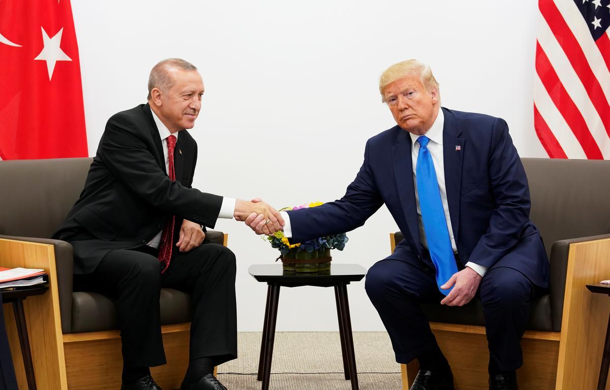 Erdogan, Turkye, sê Sirië sal met Trump by die VN bespreek