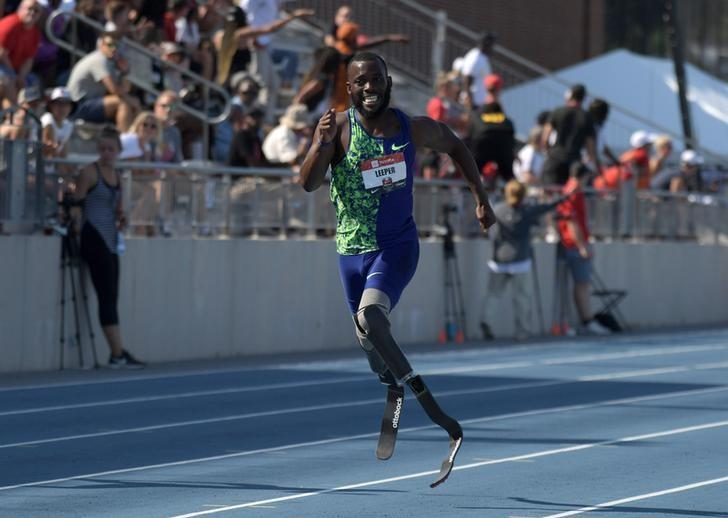 Athletics: Amputee Leeper to miss worlds over eligibility issue