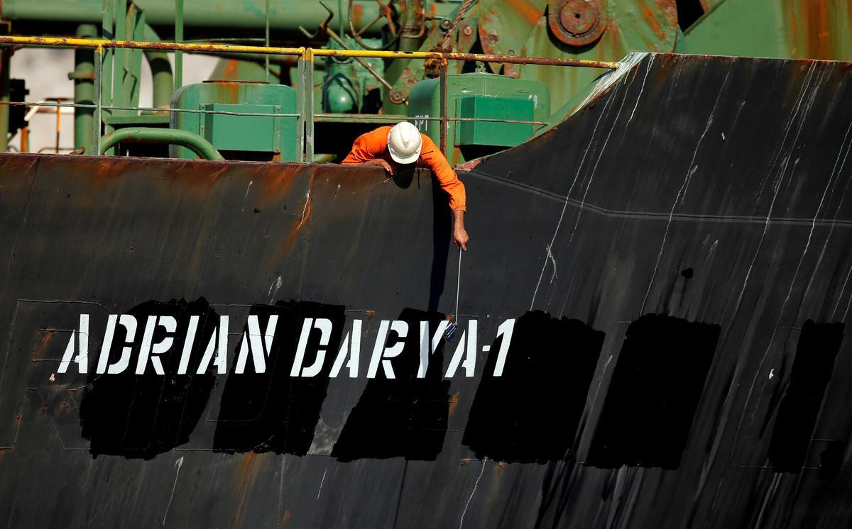 Teheran sê Iranse tenkskip het vrag aan die kus van die Middellandse See afgelaai