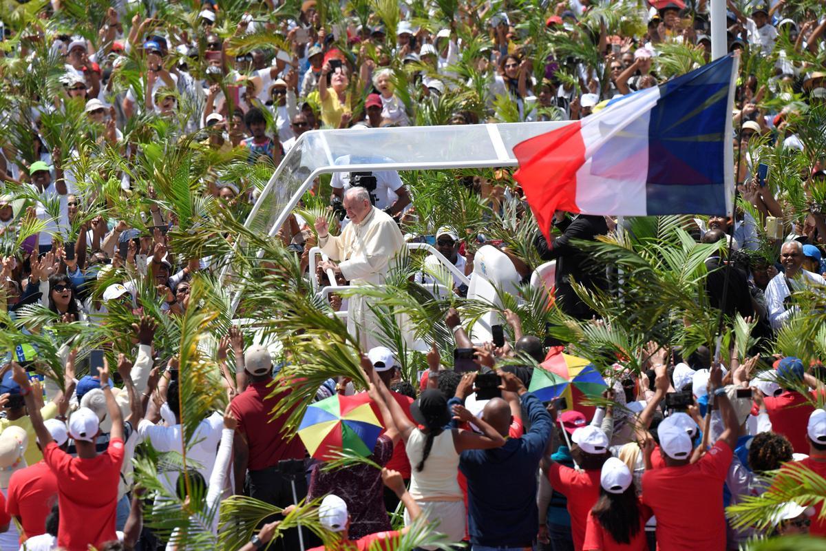 Mauritius sê die pous-besoek ondersteun die eis op Chagos-eilande