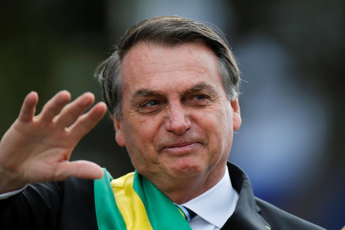 Die Brasiliaanse Bolsonaro wat goed herstel, kom Donderdag terug