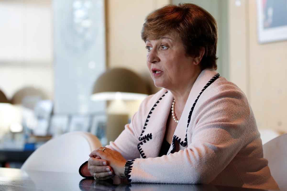 Volgens die Fonds sê die Georgieva-enigste kandidaat om IMF te lei