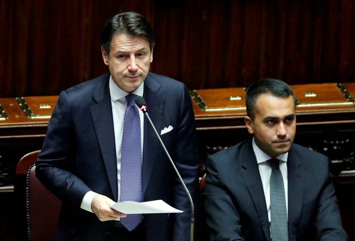 Die regering van Italië hou by die inkomsteskema van die burger: premier