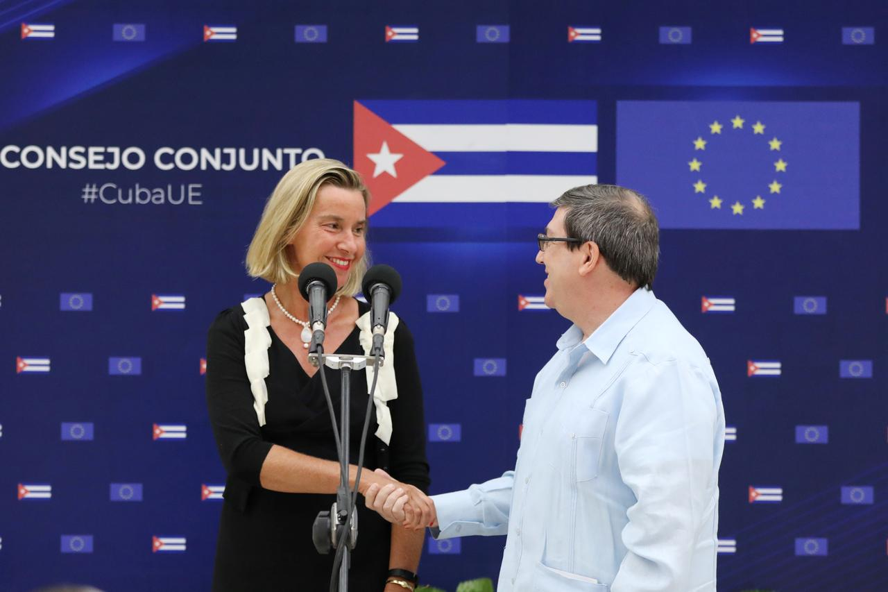 Image result for EU stresses support for Cuba even as U.S. hikes sanctions