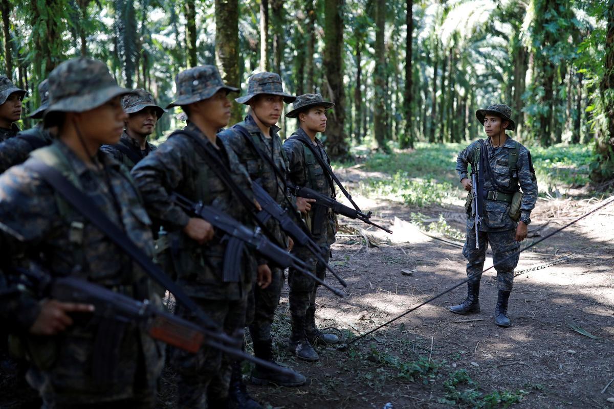 Guatemala ontplooi 2 000 troepe ná 'n dodelike aanval op soldate