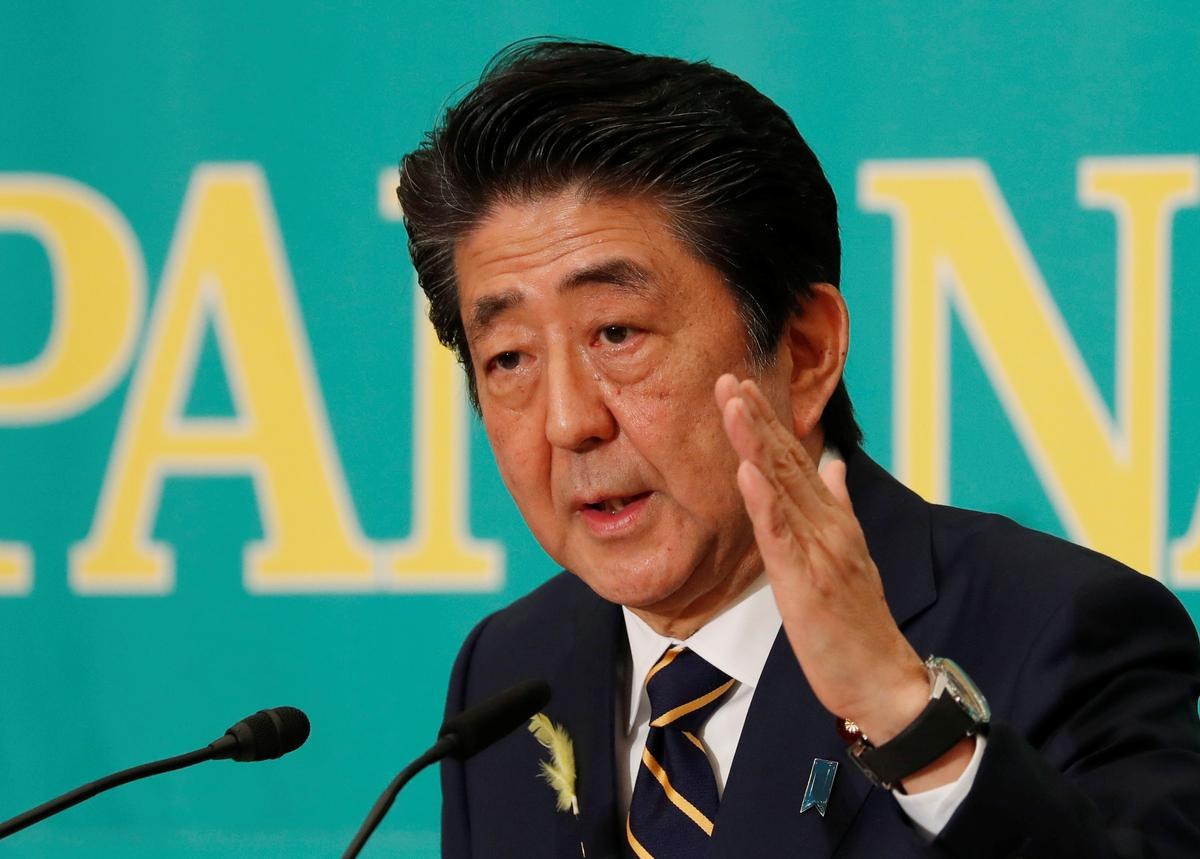 Japannese Abe gaan die telegeniese seun van gewilde oud-premier in die kabinet bring: media