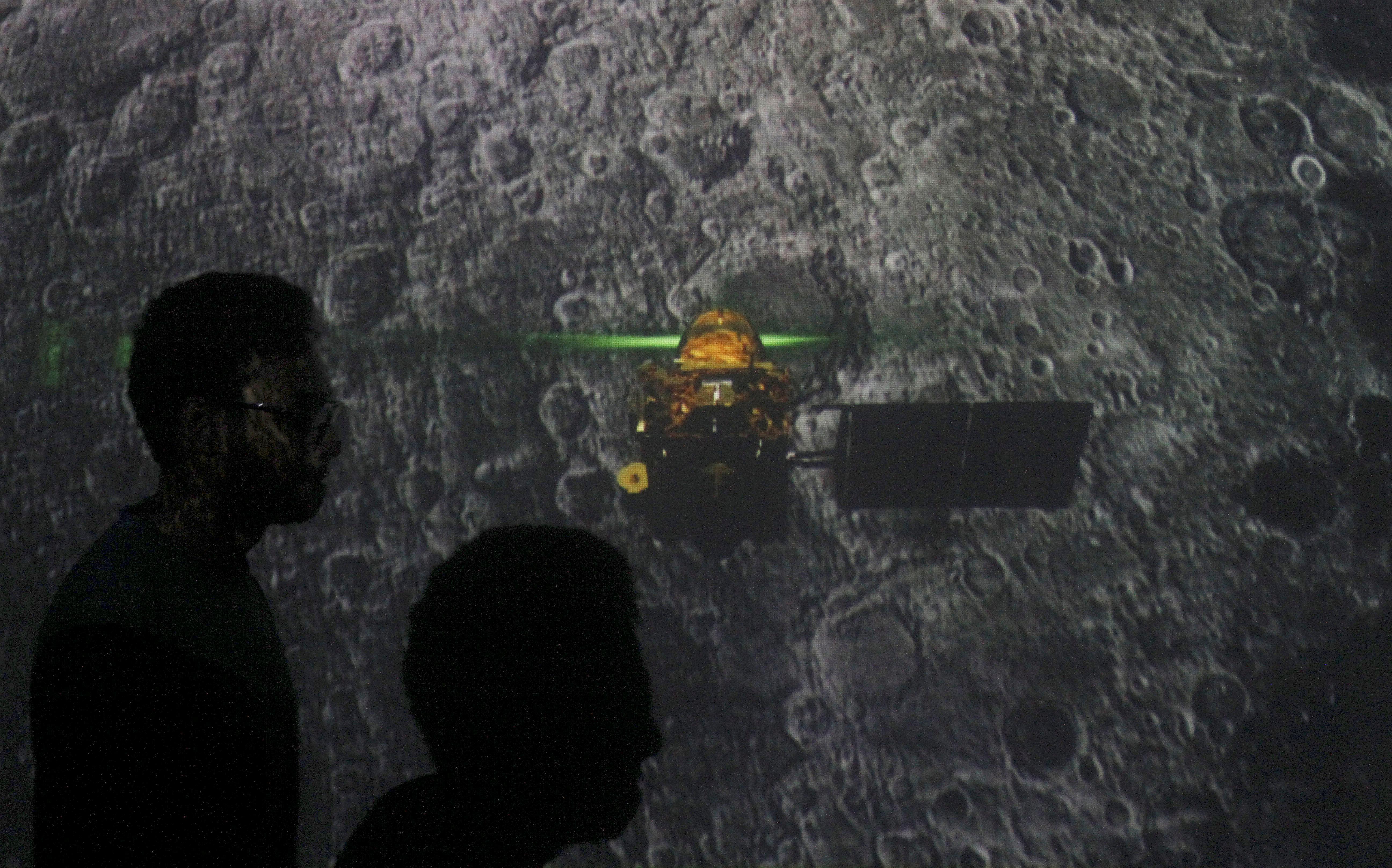 India's moon mission locates landing craft, no communication yet