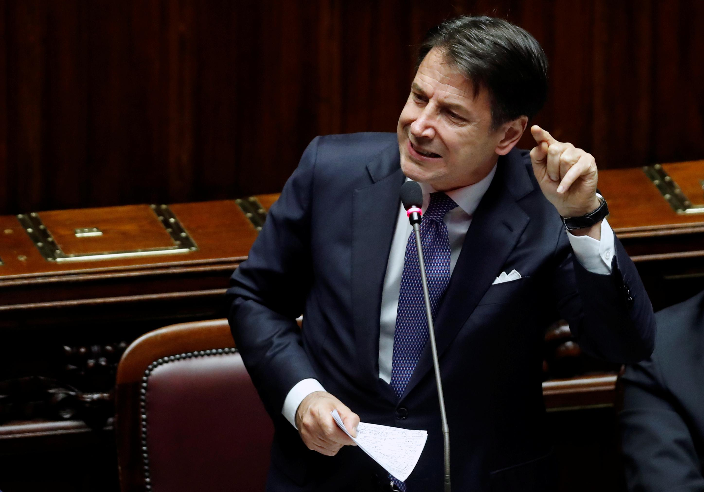 Italy wants reform of EU stability pact - PM Conte