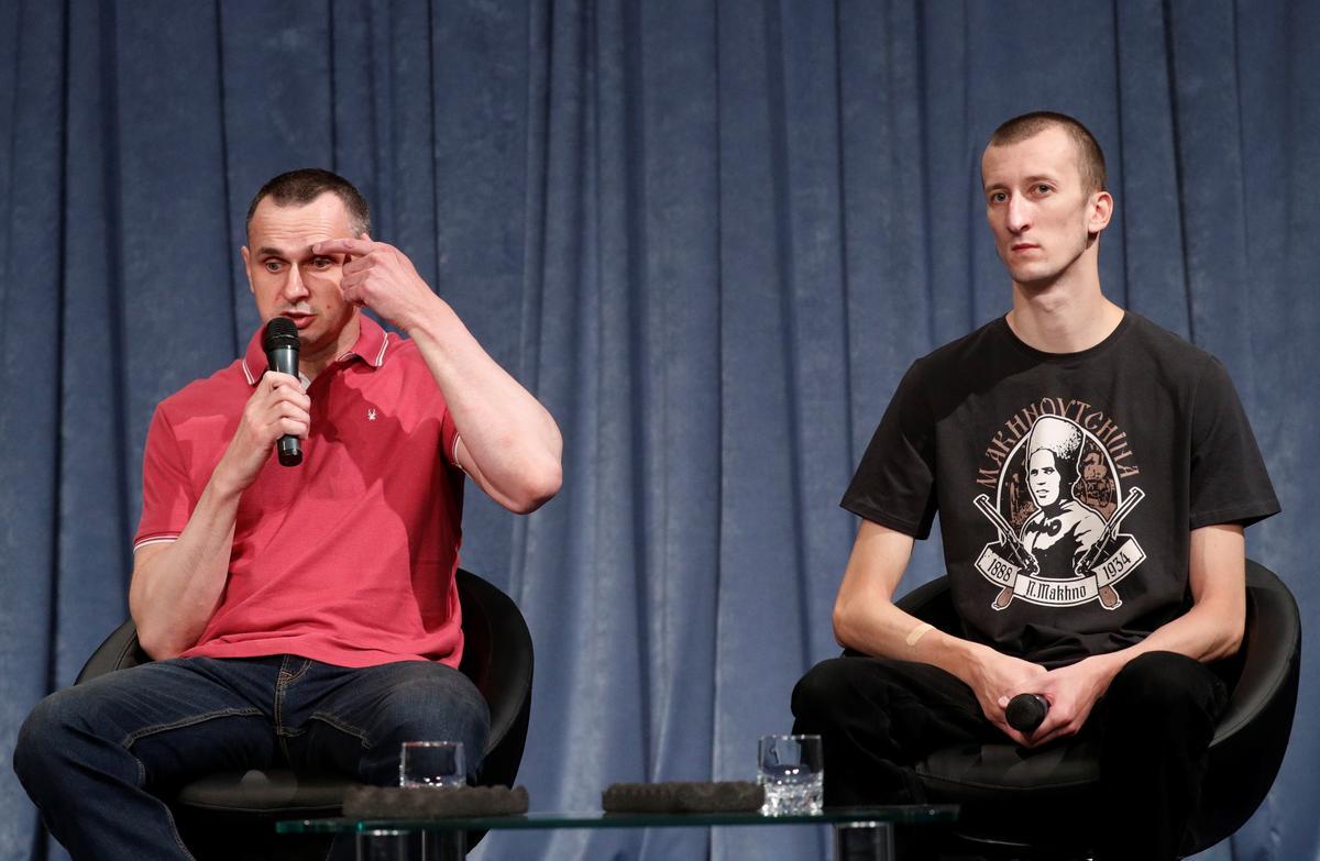 Terug in die Oekraïne beplan Sentsov om meer films te maak en vir gevangenes in Rusland te praat