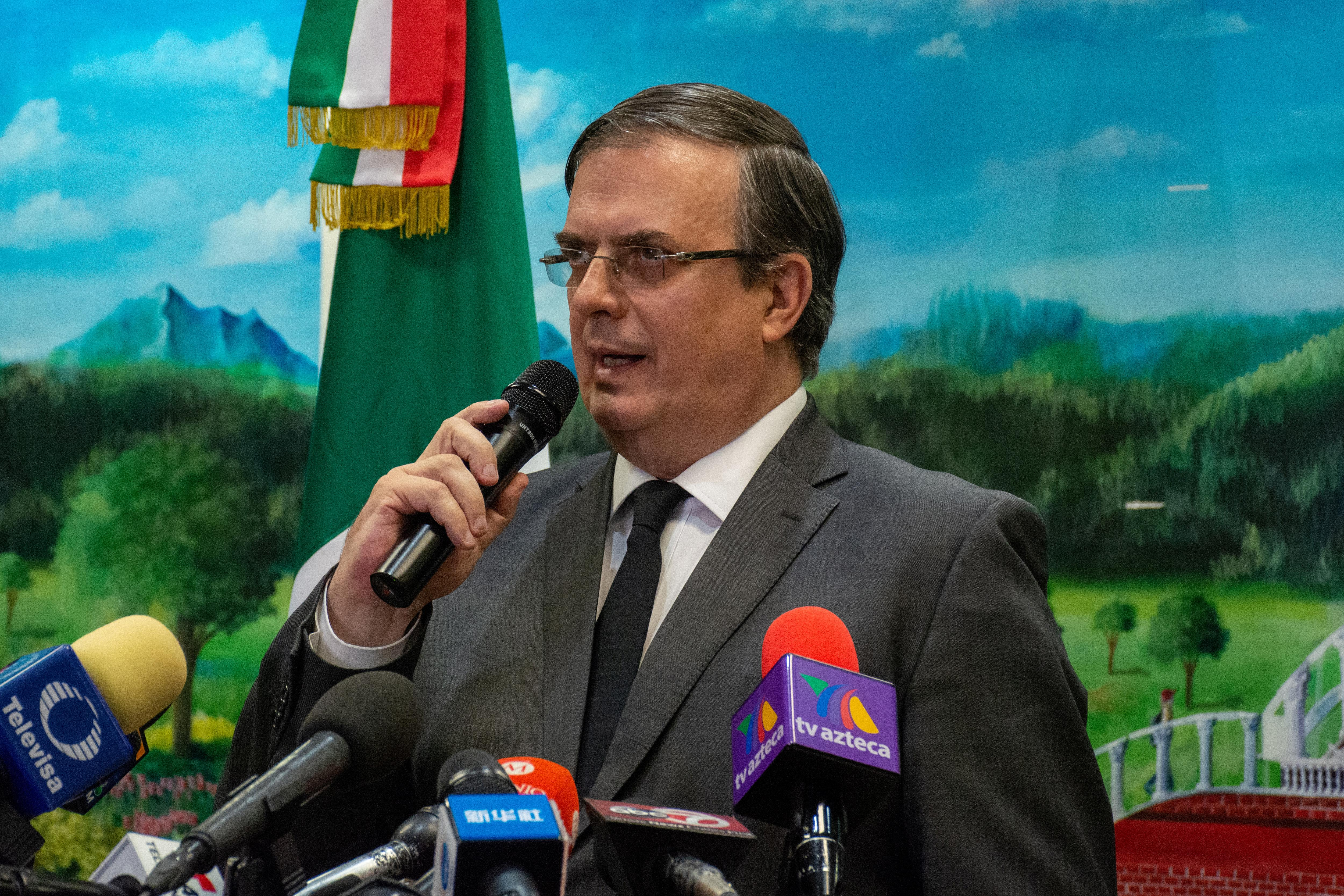 Mexico to press U.S. on halting illegal flow of weapons: Ebrard