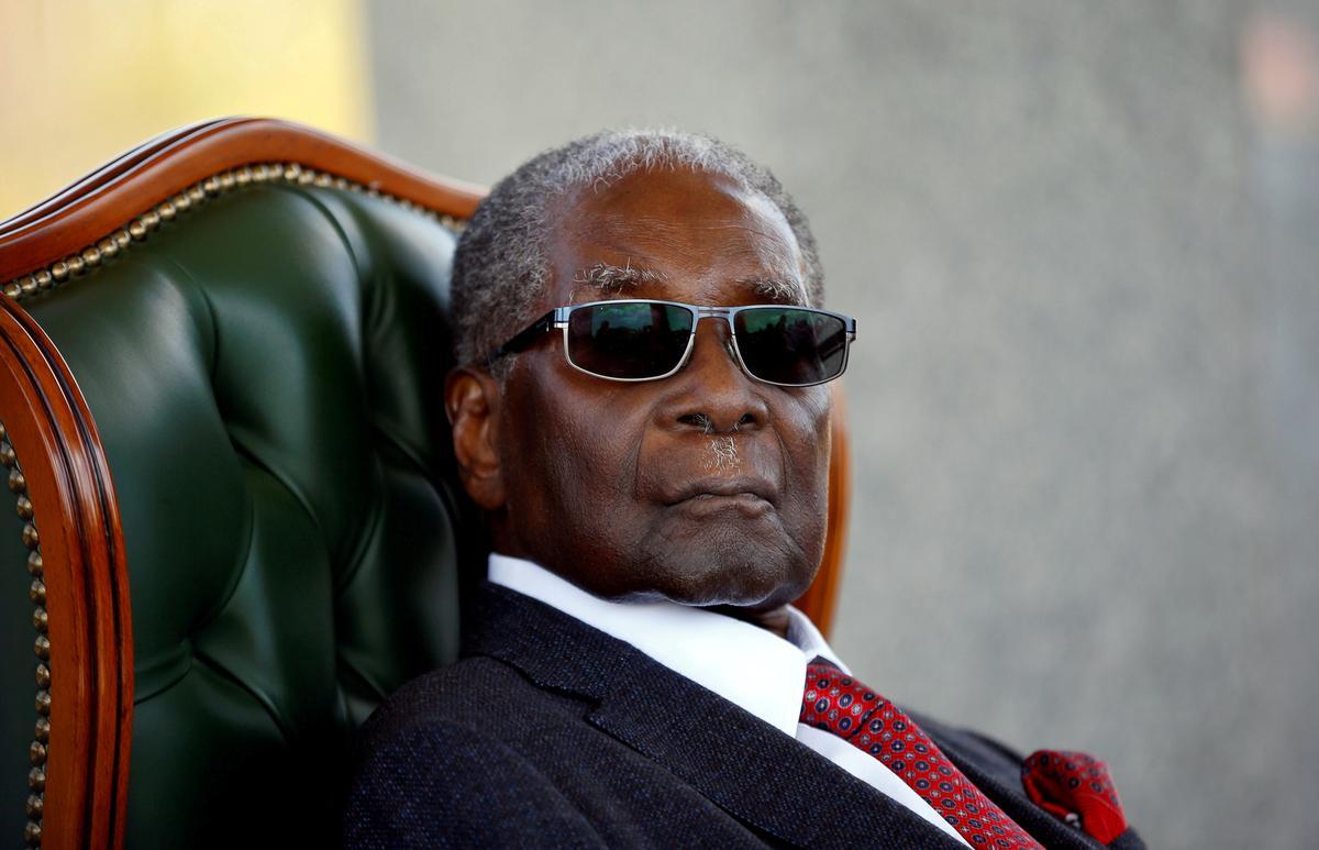 Mugabe se liggaam word in Zimbabwe, 'n begraafplaas, steeds 'n raaisel verwag