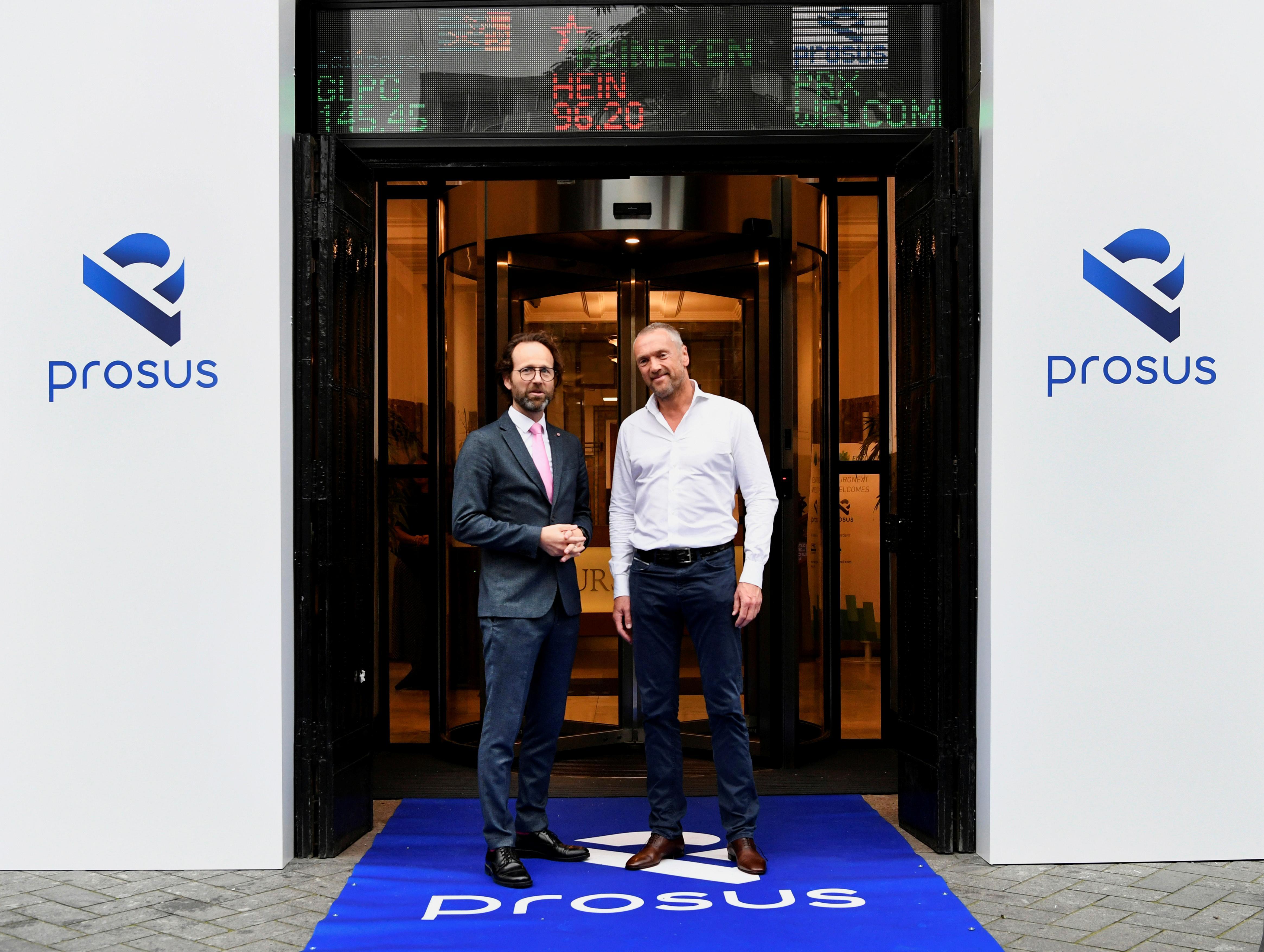Le spin-off Prosus de Naspers augmente de 25% lors de ses débuts sur le marché à Amsterdam
