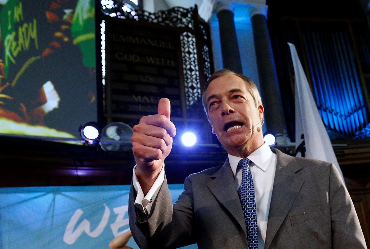 Farage warns PM Johnson of electoral 'kicking' over Brexit