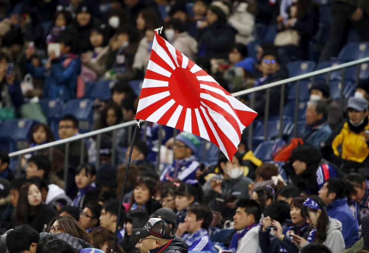 Suid-Korea vra die IOK om Japan se gebruik van die 'Rising Sun'-vlag tydens die Olimpiese Spele te verbied