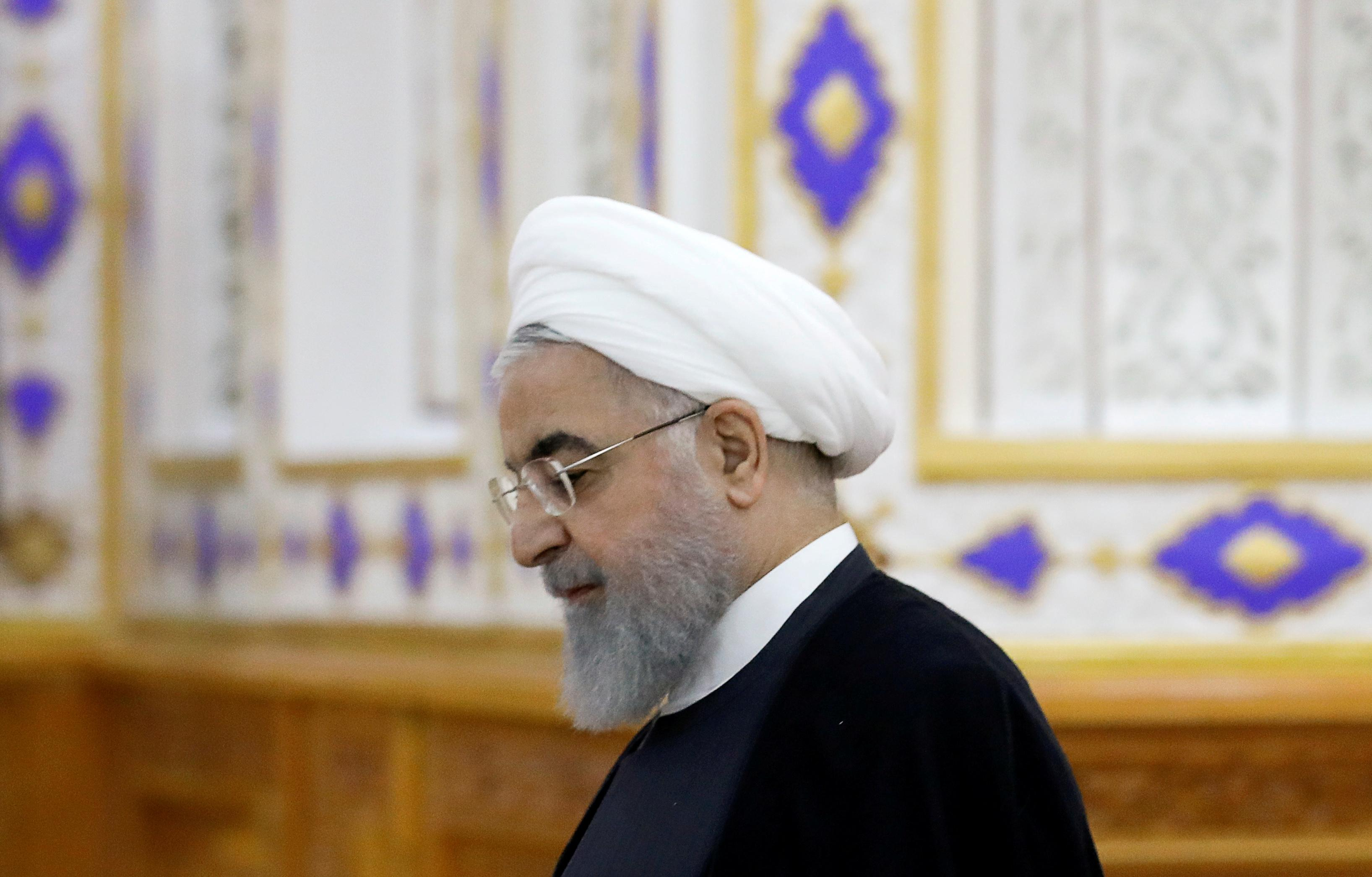 Iran's Rouhani tells France's Macron: no talks with U.S. while sanctions in place