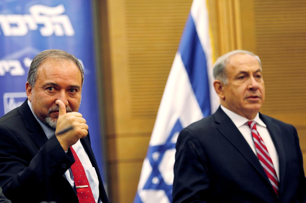 Die voormalige Netanyahu-assistent Lieberman kan Israelitiese koningmaker wees