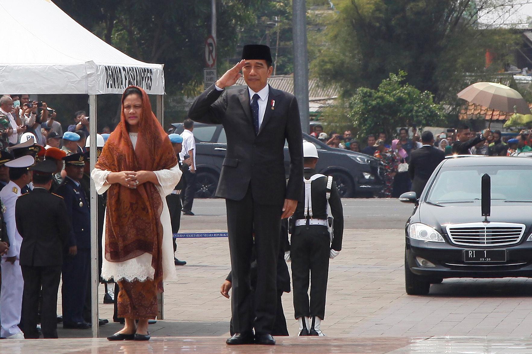 Indonesia president denies compromising fight against graft