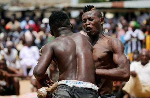 Dambe boxers thrill crowds in Nigeria