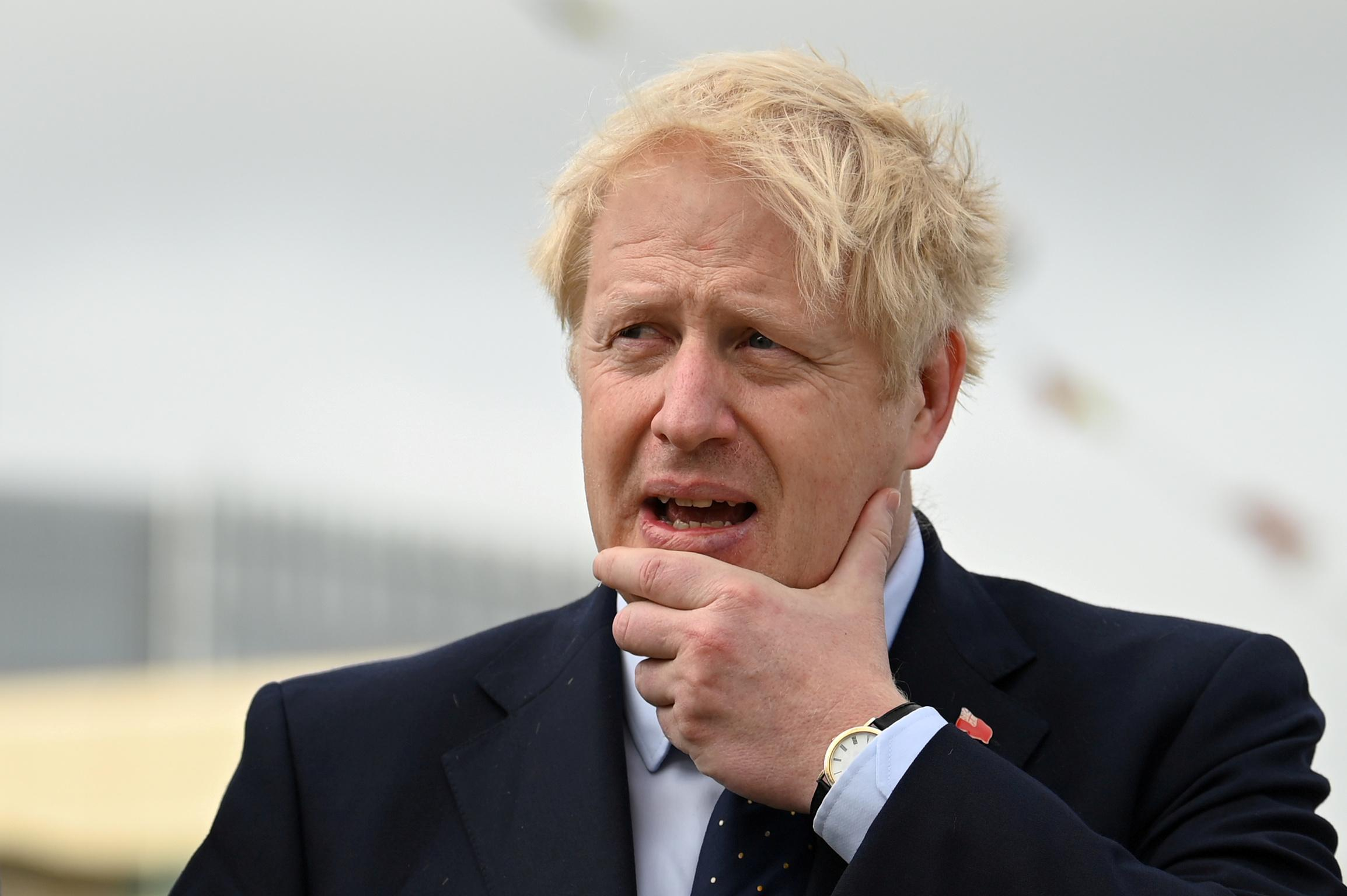 Johnson, likening himself to Incredible Hulk, vows October 31 Brexit