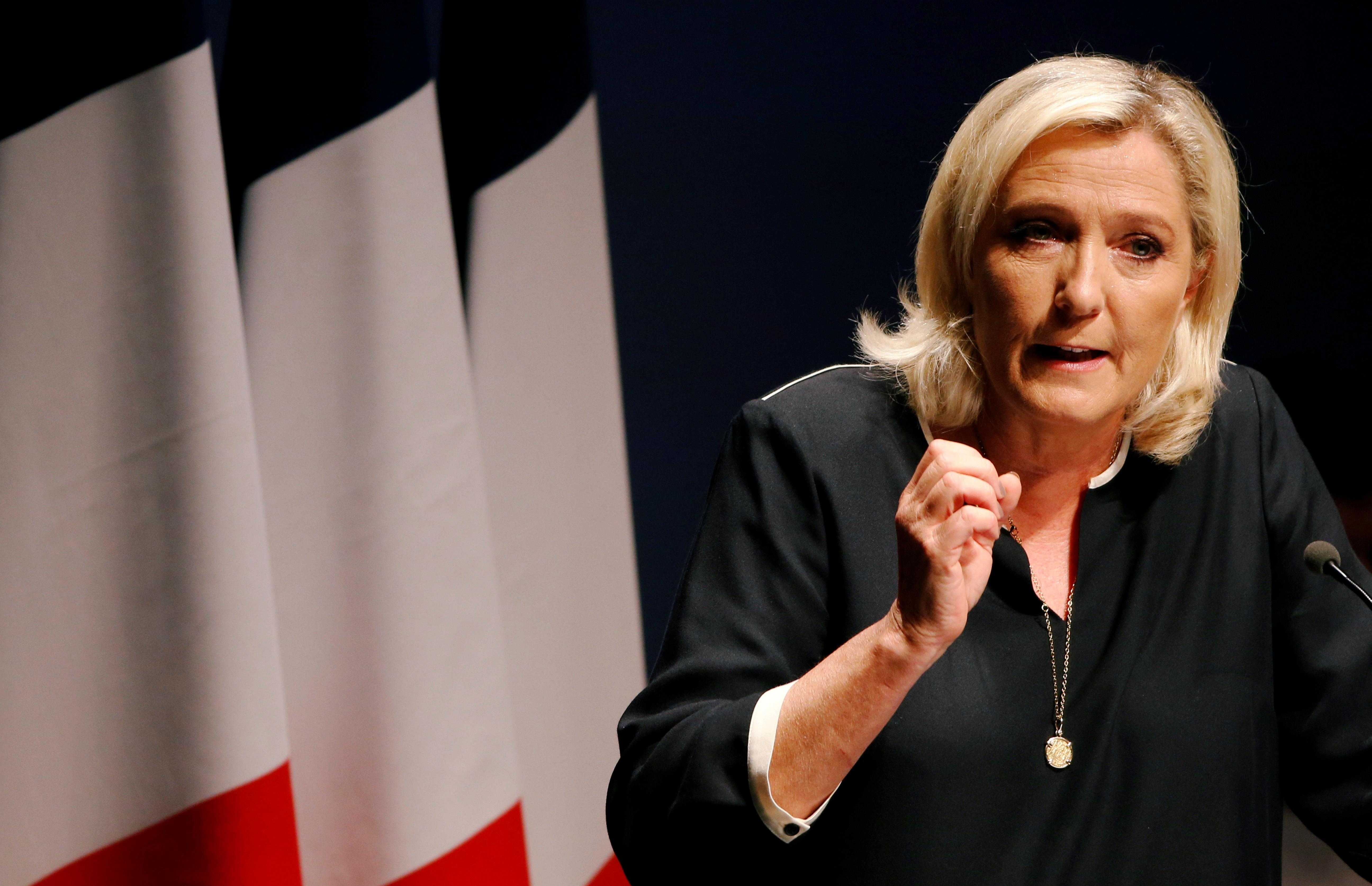 France's Le Pen hails EU 'way of life' job as victory on path to...