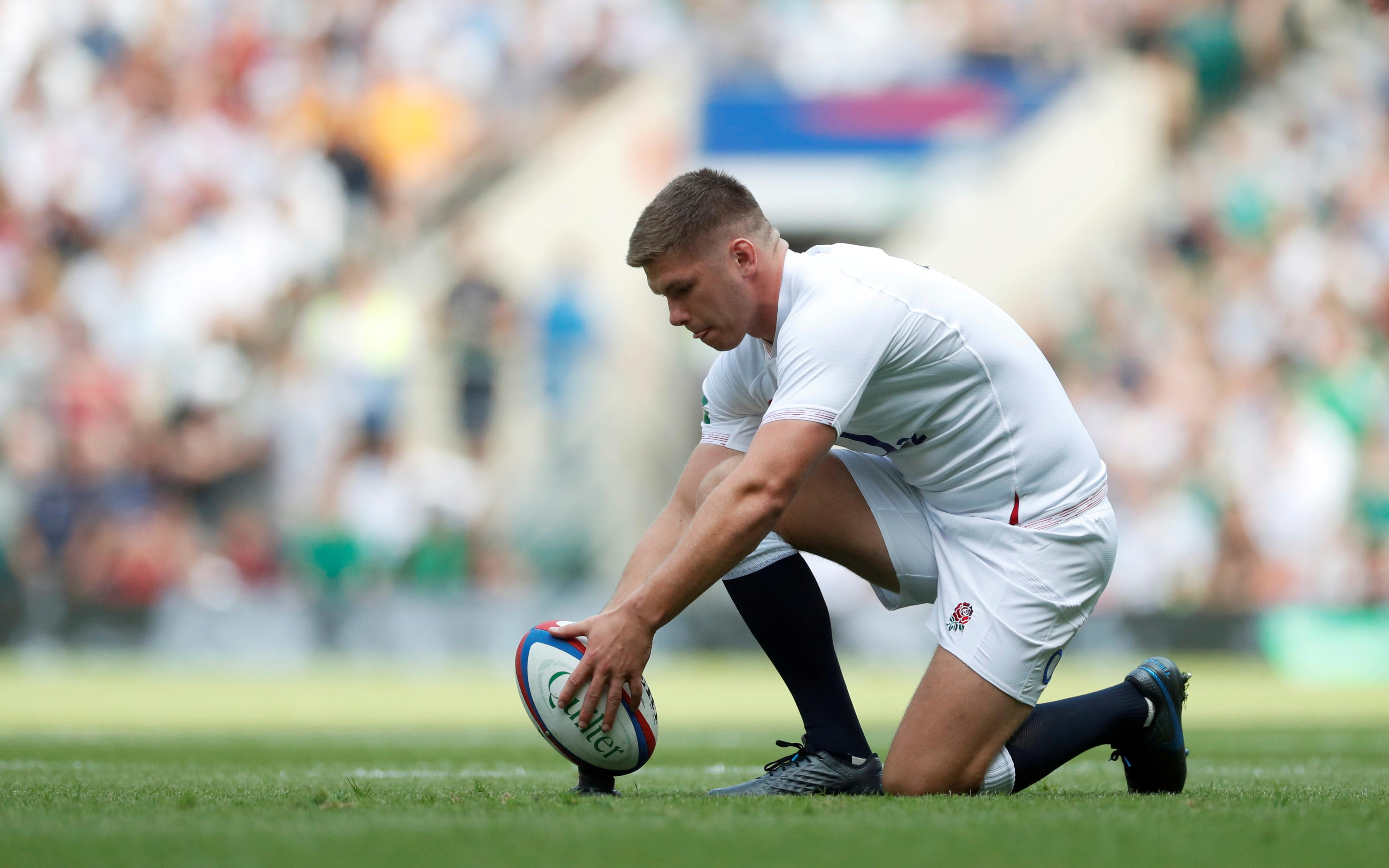 England's Farrell tackles discipline with changed technique
