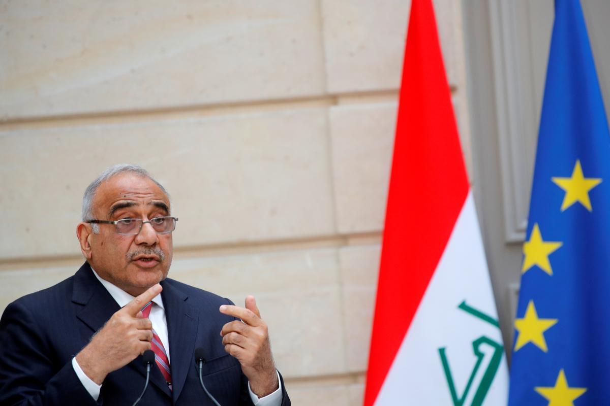 Irakse premier kry telefoonoproep van Pompeo