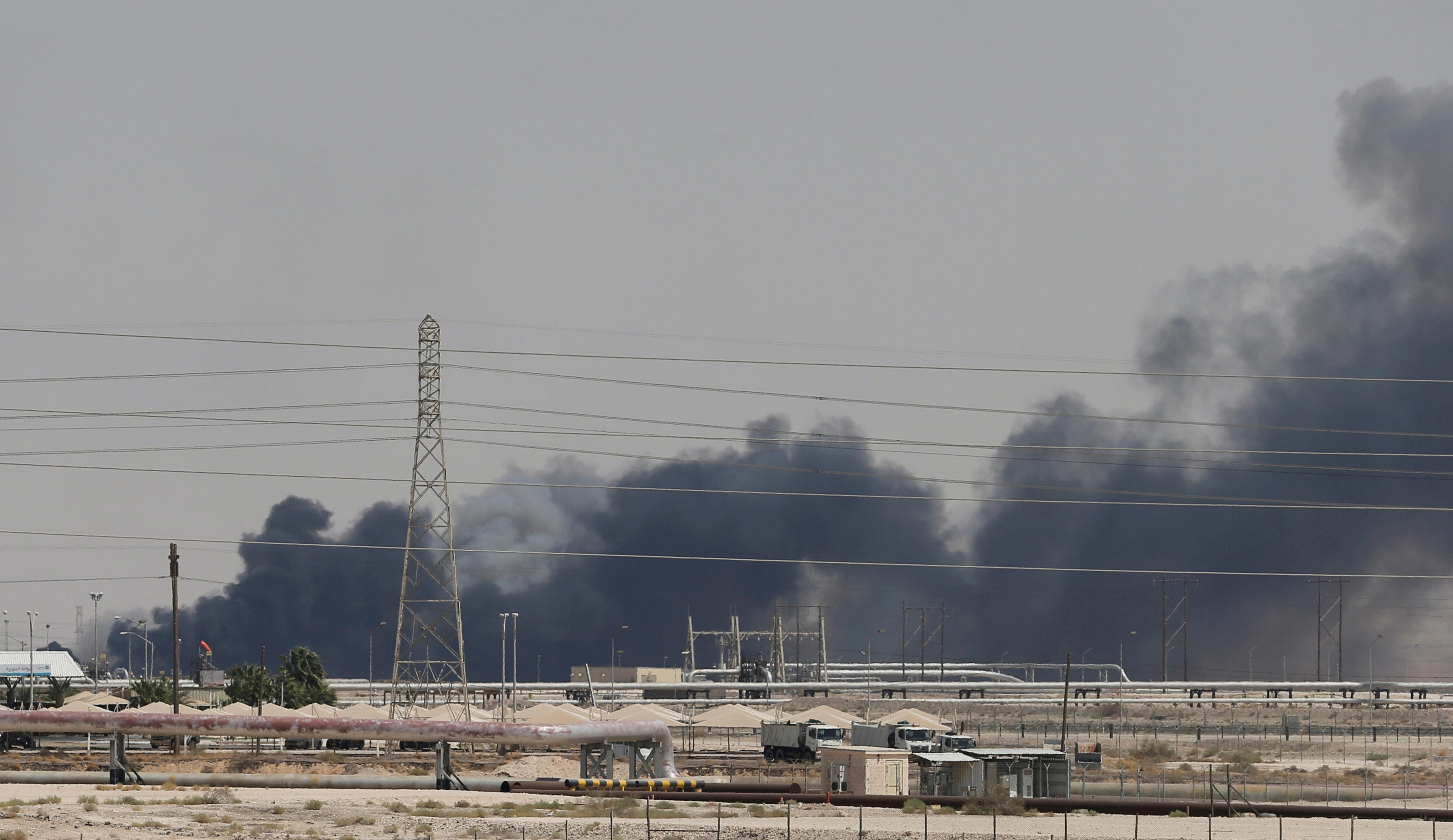 Beleaguered U.S. energy shares soar after attacks on Saudi facilities