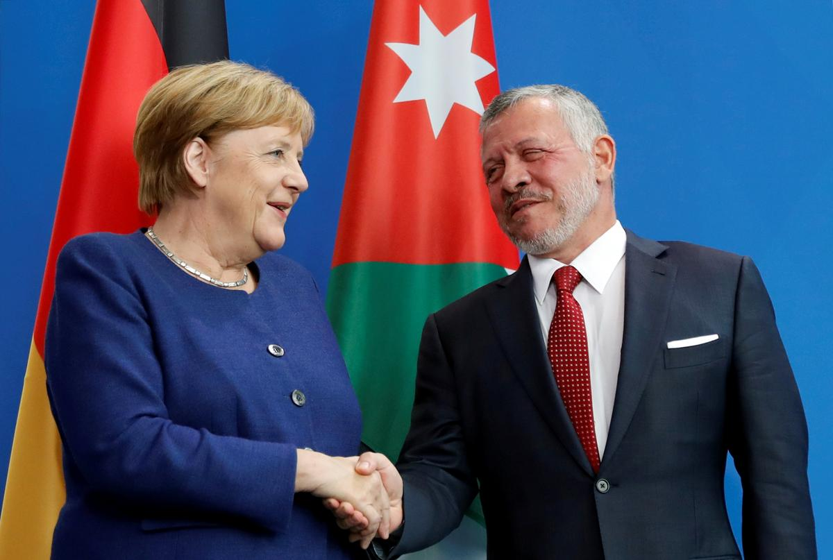 Merkel kritiseer Netanyahu se plan om Jordaanvallei te annekseer