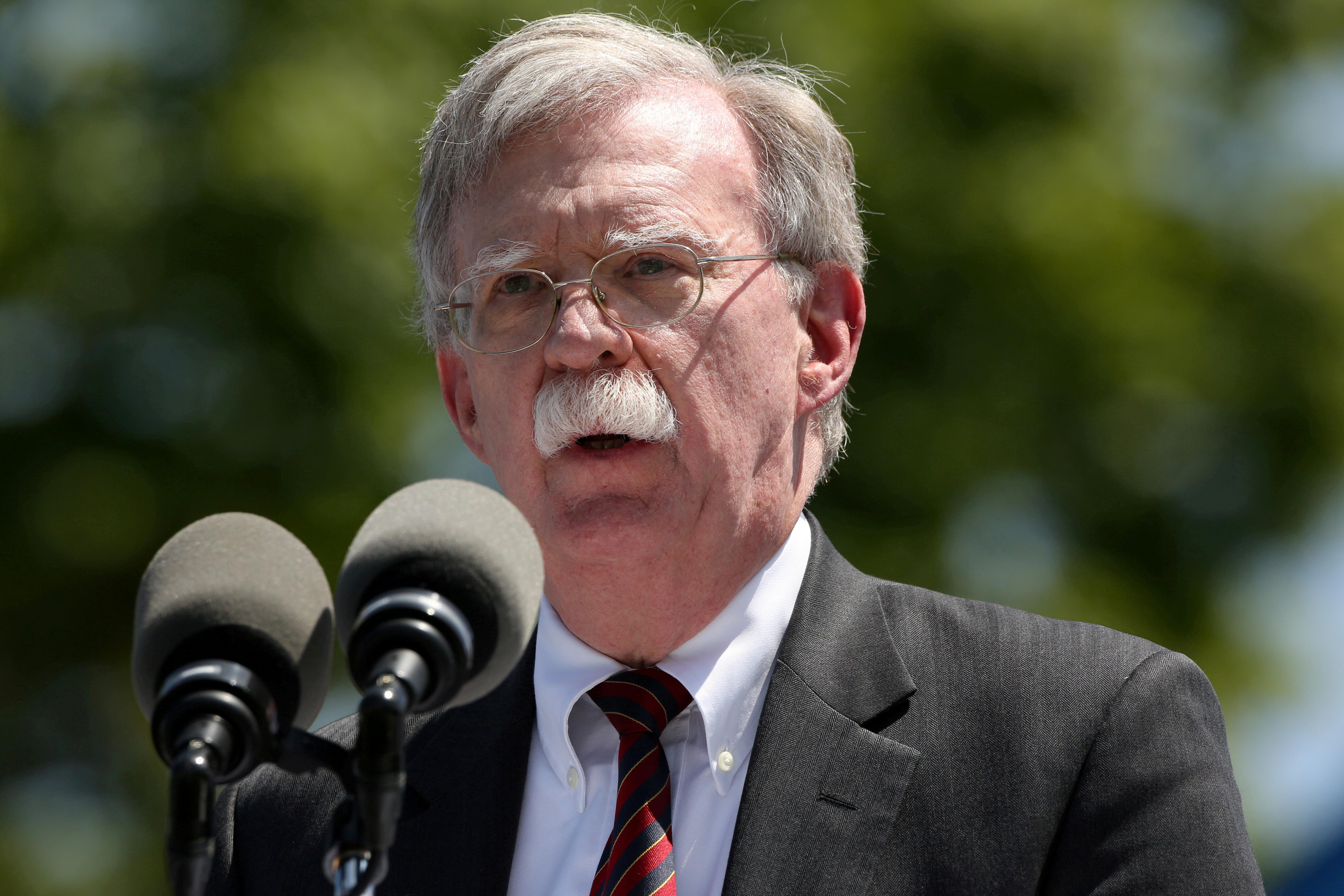 Trump lists familiar White House faces as possible Bolton successors