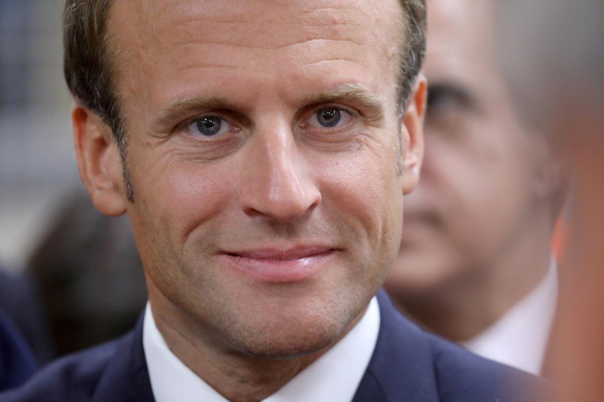 Frankryk se Macron wed op die private sektor se finansiering om die opstart te bevorder