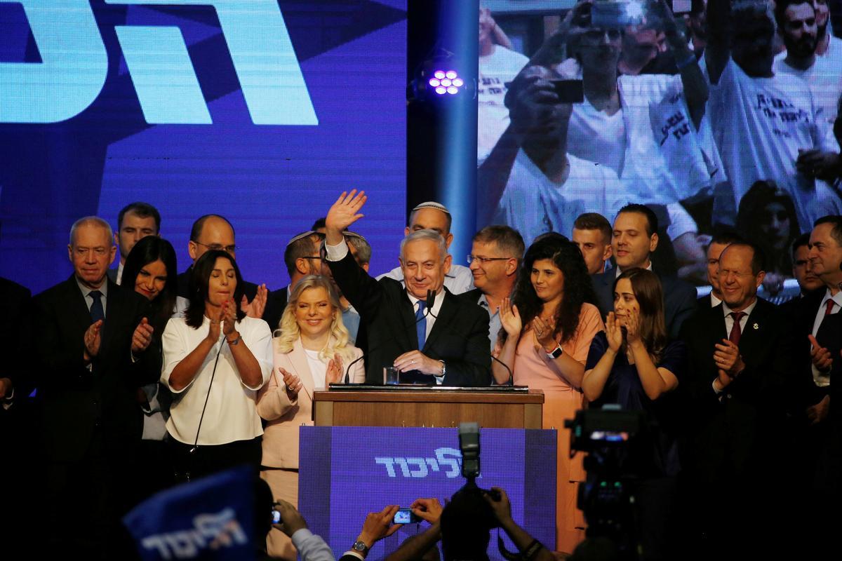 Volgens Netanyahu se belangrikste verkiesingsgeveg, Gantz, lyk dit asof die premier verloor het