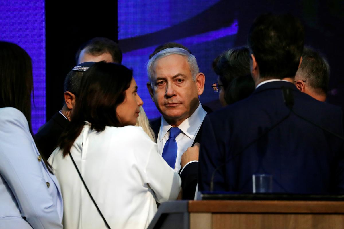 Israel se Netanyahu versuim om in 'n noue verkiesing meerderheid te kry