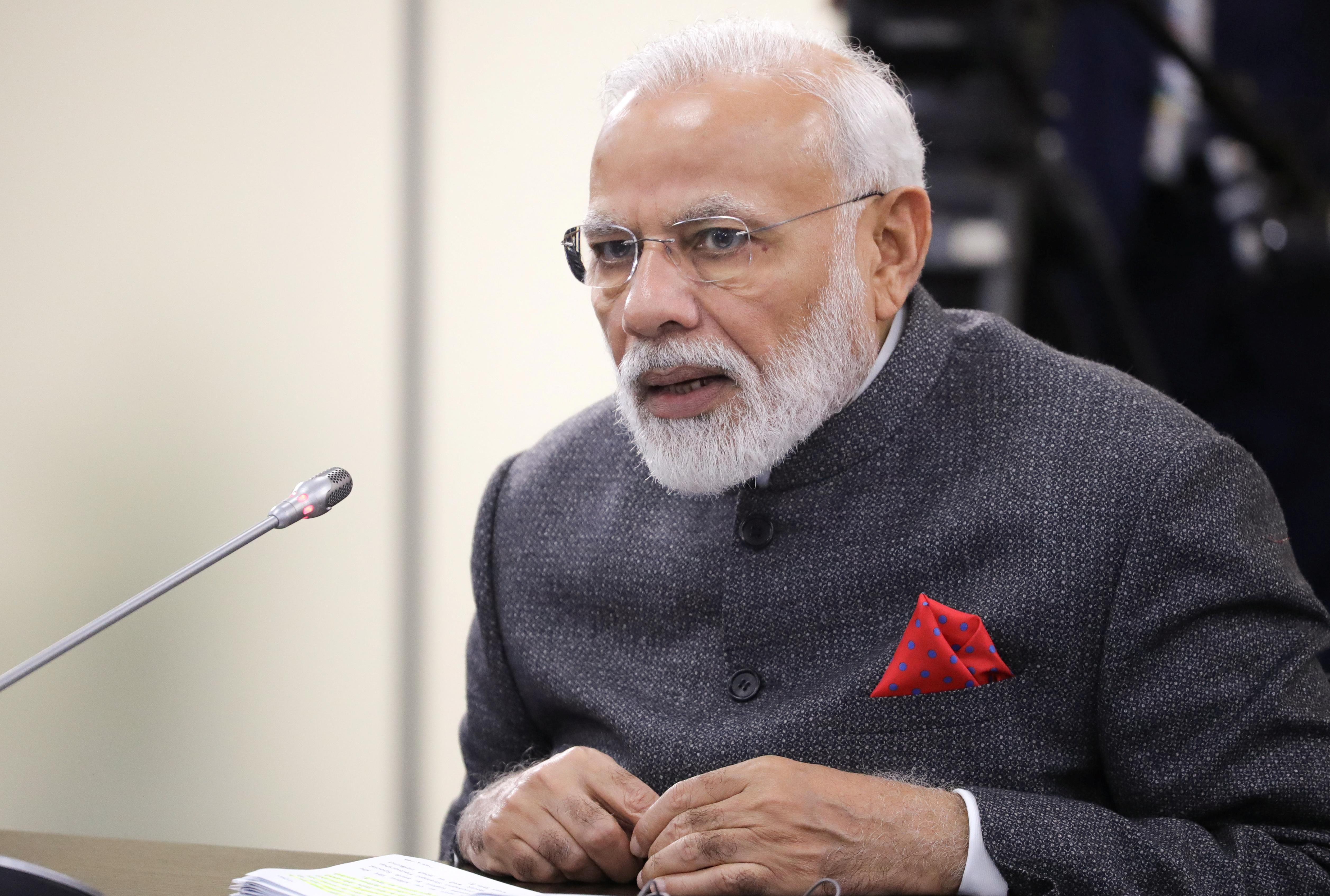 Pakistan refuses permission for India's Modi to fly across its...