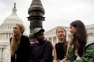 Activist Greta Thunberg takes climate protest to the U.S.