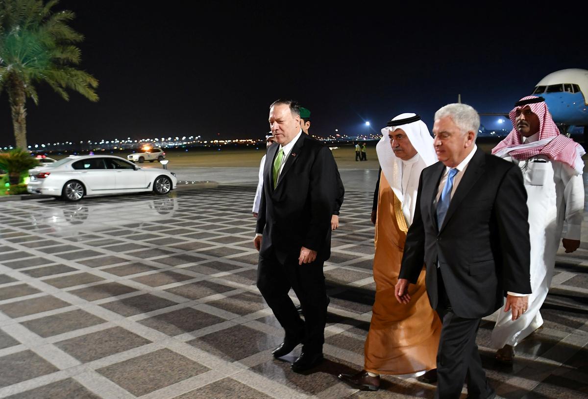 Pompeo sê aanval was 'oorlogshandeling' op Saoedi-Arabië, soek koalisie