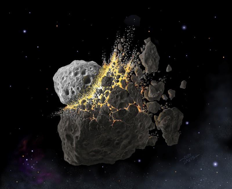 Distant asteroid calamity shaped life on Earth 466 million years ago