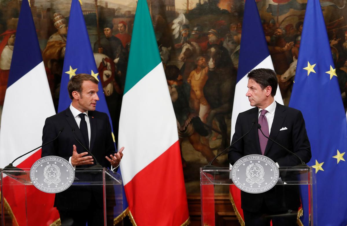 Italië en Frankryk stem saam dat migrante oor die hele EU versprei moet word