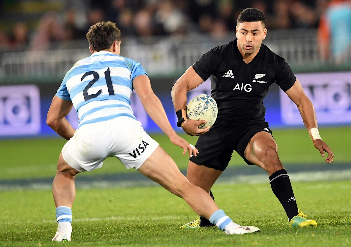 Mo'unga keeps All Blacks' flyhalf jersey for Boks opener