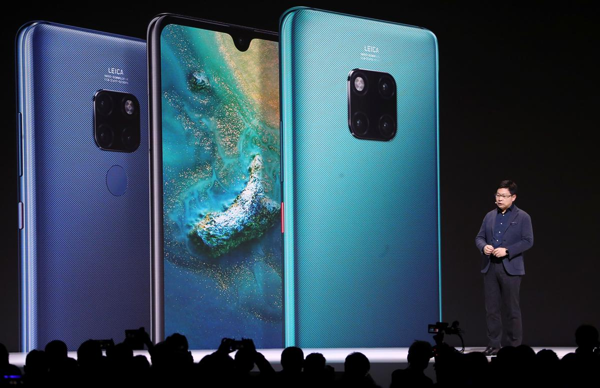 Huawei praat met Apple, Samsung, hul eie apps met die Mate 30-uitdaging