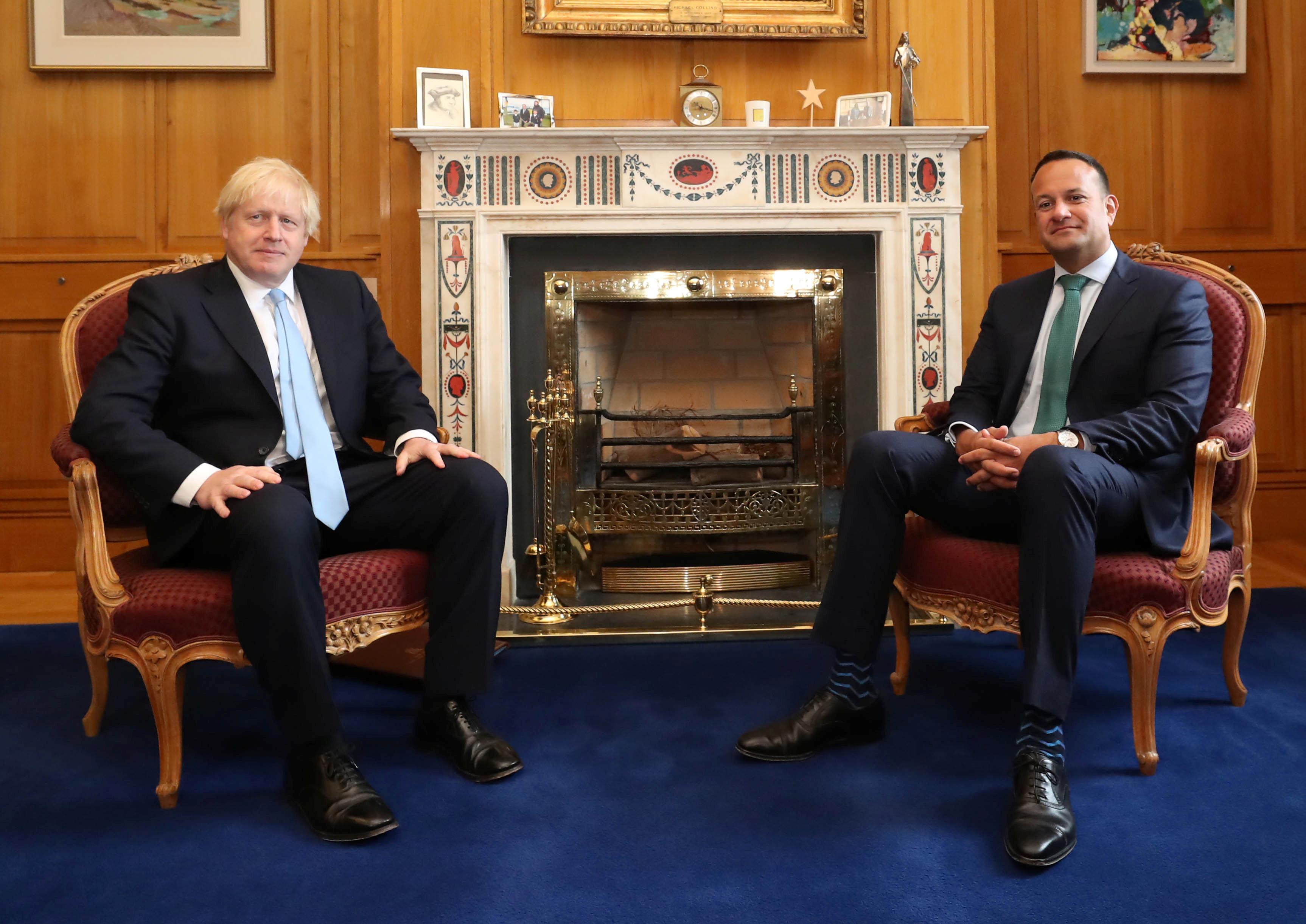 Irish PM says hopes to meet Johnson in New York next week