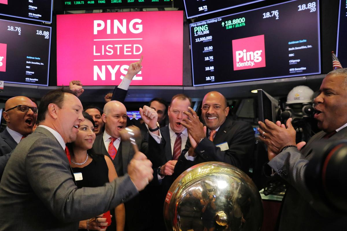 Shares of Ping Identity jump 25% in U.S. market debut