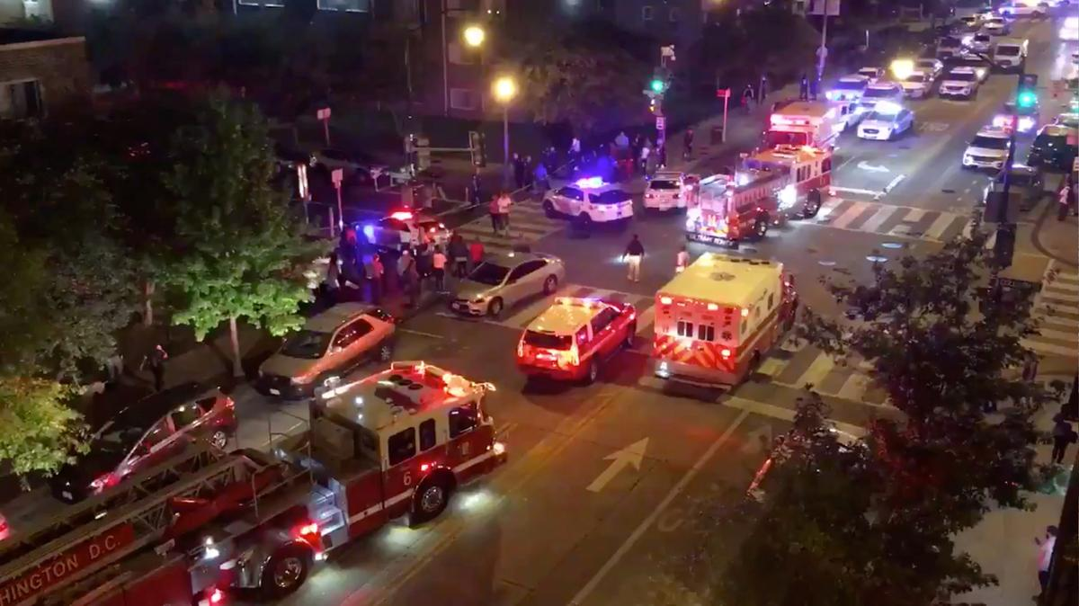 Two killed, seven wounded in two Washington, DC shootings; police...