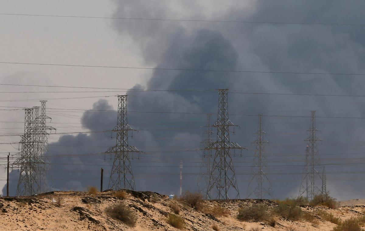 Binne Saoedi-Arabië se reaksie op 'n aanval op die hart van die olieryk