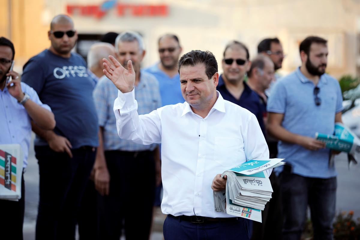 A historic first? Israel's Arabs could lead parliamentary opposition