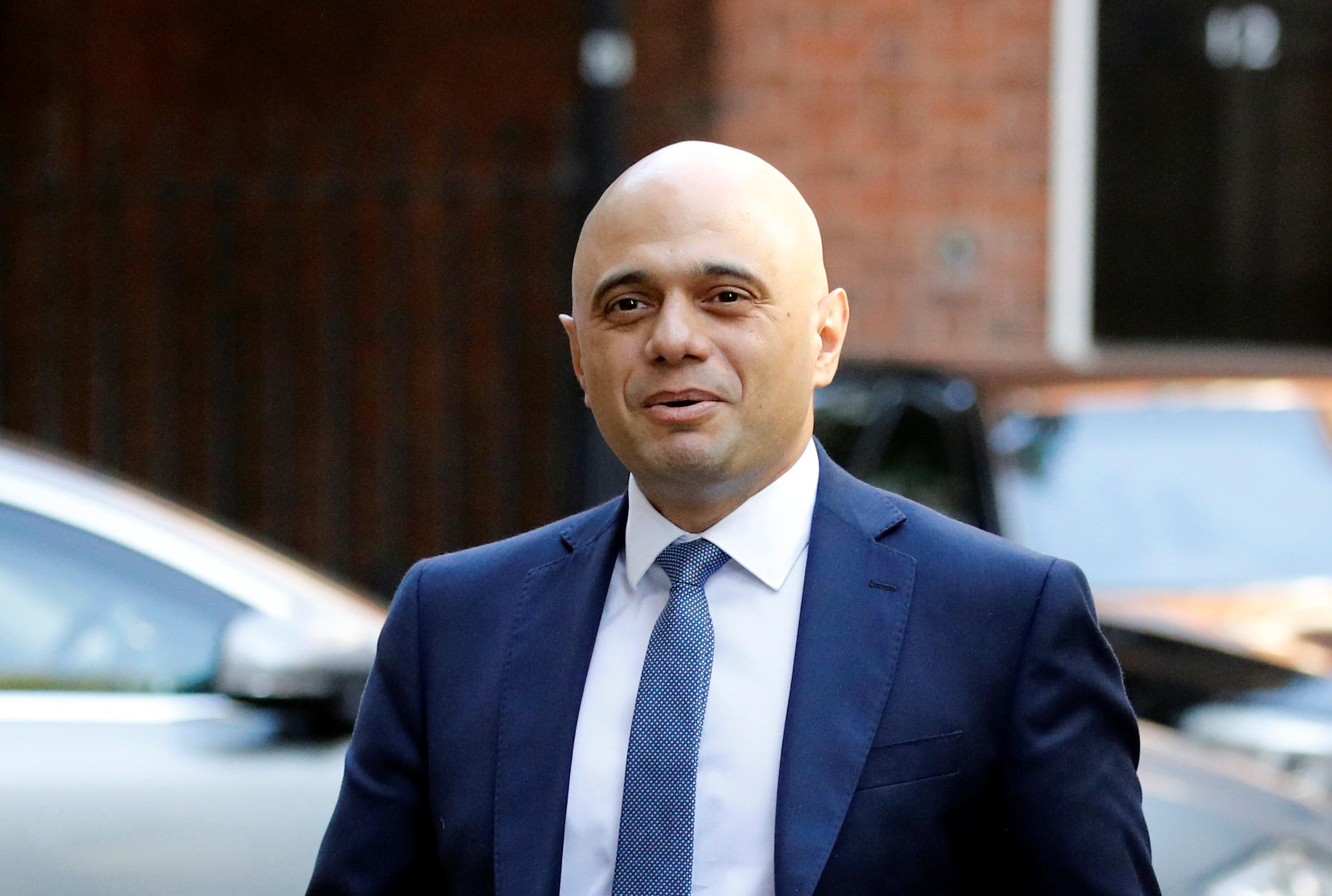 UK's Sajid Javid plans October giveaway Budget - FT