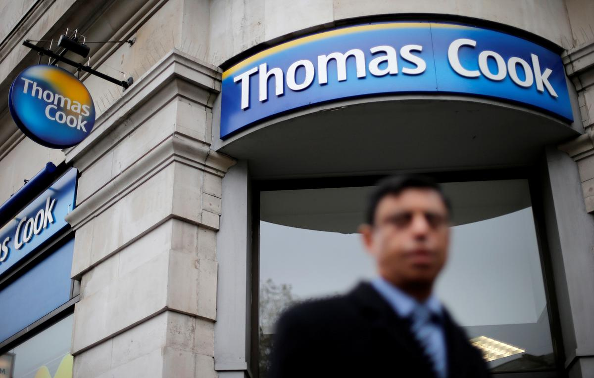 Thomas Cook has approached UK government for bailout funds: FT